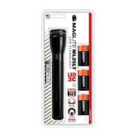 Maglite  173 lumens Flashlight  LED  C  Black