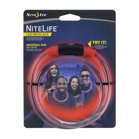 Nite Ize NHOH-10-R3 NiteLife LED Necklace, Red