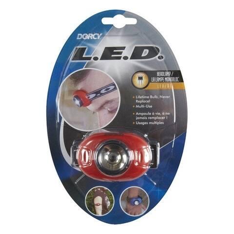 Dorcy 25 lumens Headlight LED CR2032 Assorted