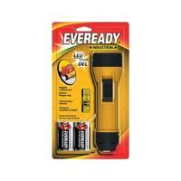 Energizer  Eveready  35 lumens Flashlight  LED  D  Black/Yellow