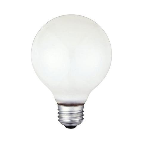 Westinghouse Incandescent Light Bulb 25 watts 185 lumens 2700 K Globe G25 Medium Base (E26) 1 pk