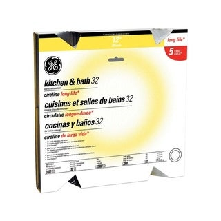 GE Fluorescent Bulb 32 watts 2400 lumens Circline T9 12 in. L Warm White 1 pk