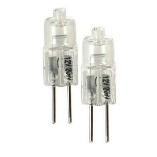 Westek Halogen Light Bulb 20 watts Xenon T3 Clear 2 pk