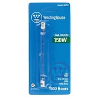 Westinghouse  Halogen Light Bulb  150 watts 2600 lumens Double-Ended  T3  RSC  White  1 pk