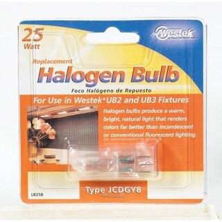 Westek Halogen Light Bulb 25 watts 420 lumens Tubular JCD GY8 Natural 1 pk