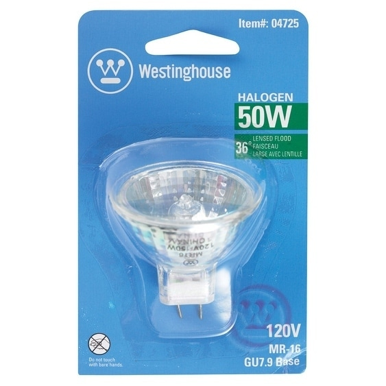 Westinghouse Halogen Light Bulb 50 watts 330 lumens Flood...