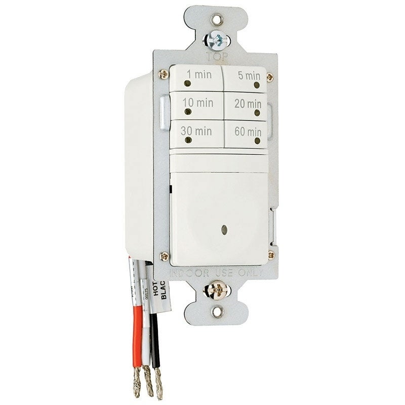PASS & SEYMOUR Indoor 7 Button Timer Switch 120 volts Lig...