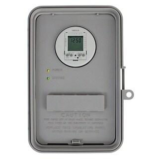 Intermatic Outdoor Digital Timer 277 volts Gray