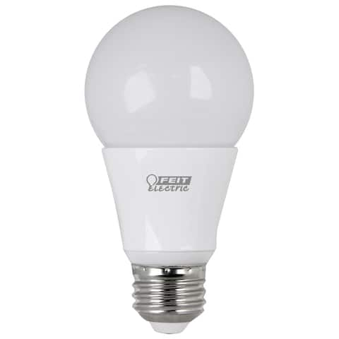 FEIT Electric LED Bulb 9.5 watts 800 lumens 3000 K A-Line A19 Warm White 60 watts equivalency