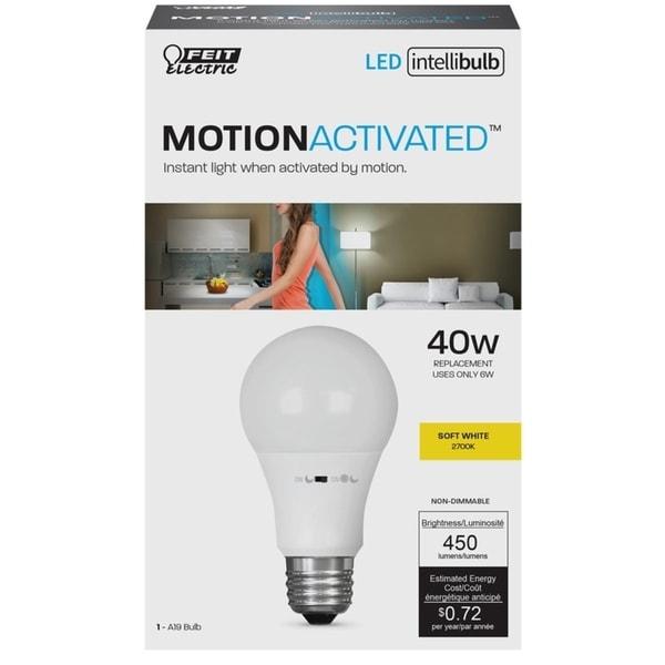 Shop Feit Electric Intellibulb Led Motion Sensing Light