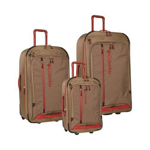 732dd24fc779 Columbia Yahara 3 Piece Luggage Set Sand