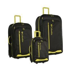 Columbia Yahara 3 Piece Luggage Set Black