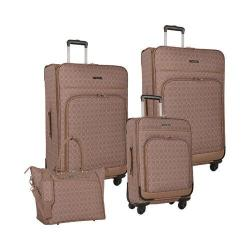 Women's Nine West Allea 4-Piece Luggage Set Taupe