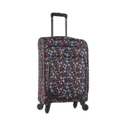 Nine West Packmeup 20in Expandable Spinner Luggage Black Multi