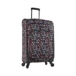 Nine West Packmeup 24in Expandable Spinner Luggage Black Multi