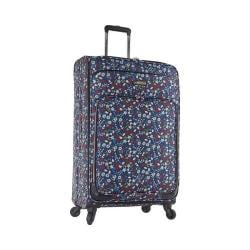 Nine West Packmeup 28in Expandable Spinner Luggage Chambray