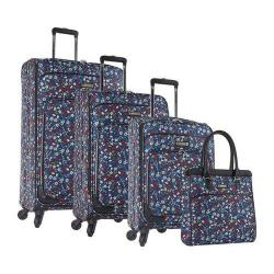 Nine West Packmeup 4-Piece Luggage Set Chambray