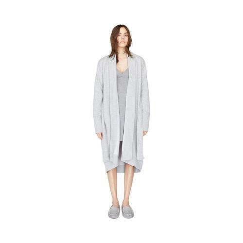 c9cd547f15 Shop Women s UGG Karoline Robe Seal Heather - Free Shipping Today -  Overstock - 15300779