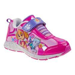 Girls' Josmo O-CH15927C Paw Patrol Sneaker Fuchsia/Multi
