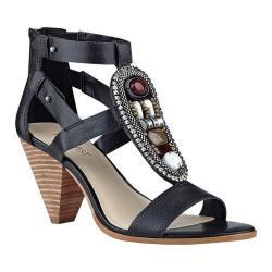 Women's Nine West Reese Gladiator Sandal Black Leather