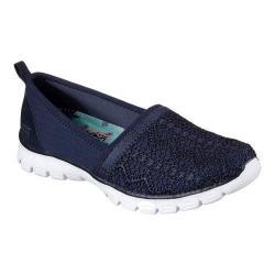 Women's Skechers EZ Flex 3.0 Duchess Slip-On Sneaker Navy/White