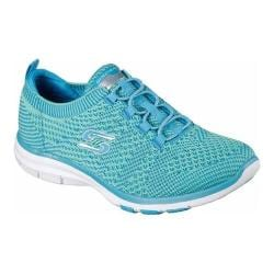 Women's Skechers Galaxies Trainer Blue/Green