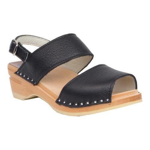 2947587b9a9f7 Women's Troentorp Bastad Clogs Ingrid Clog Sandal Onyx Leather