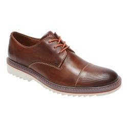 Men's Rockport Jaxson Cap Toe Oxford Brown II Leather