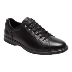 Men's Rockport Dressports 2 Lite Lace Up Sneaker Black 2 Leather