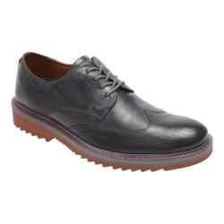 Men's Rockport Jaxson Wing Tip Oxford Castlerock Grey Leather