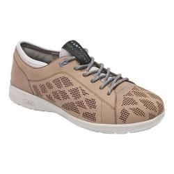 Women's Rockport Truflex W Lace To Toe Sneaker Sand Nubuck
