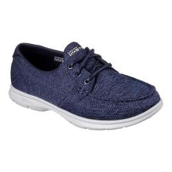 Women's Skechers GO STEP Excape Boat Shoe Navy