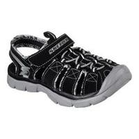 Boys' Skechers Relix Sandal Black/Gray
