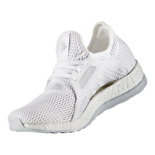 huge selection of 3bc83 36e07 ... Thumbnail Women  x27 s adidas Pure Boost X Trainer White Silver  Metallic  ...