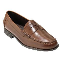 Men's Cole Haan Dustin II Penny Loafer Dark Brown Leather