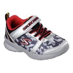 Boys' Skechers Skech-Stepz Sneaker Silver/Red