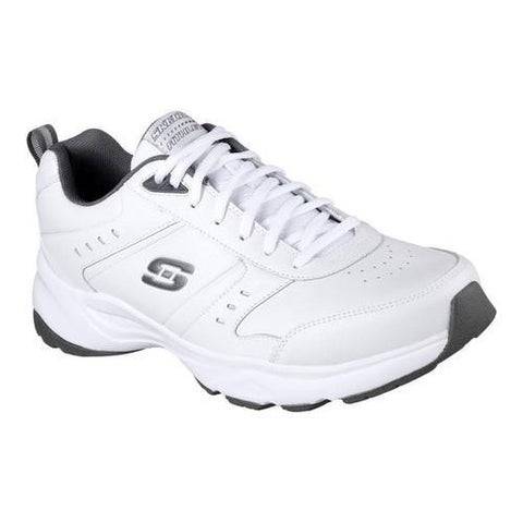 Men's Skechers Haniger Training Sneaker White/Charcoal