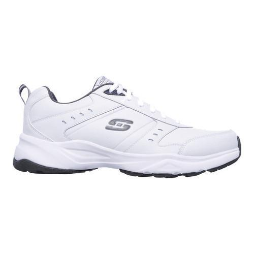 Skechers Men's Haniger Training Sneaker,White/Charcoal,US 14 W