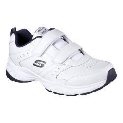 Men's Skechers Haniger Casspi Training Sneaker White/Navy https://ak1.ostkcdn.com/images/products/181/83/P21759485.jpg?impolicy=medium