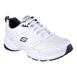 Men's Skechers Haniger Training Sneaker White/Navy - Thumbnail 0
