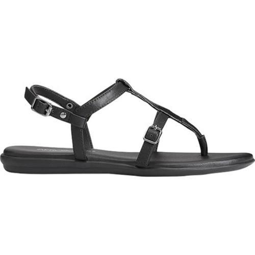 Women S Aerosoles Obstachle Course T Strap Sandal Black