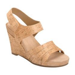 Women's A2 by Aerosoles Plush Day Quarter Strap Wedge Sandal Cork Combo Faux Cork