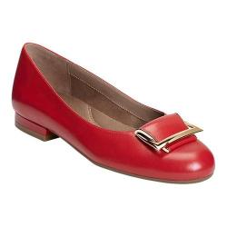 Women's Aerosoles Good Times Flat Red Leather