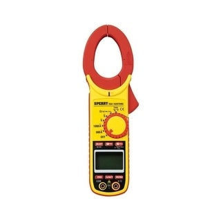 Sperry Clamp-On Meter 27 Range Yellow and Black Digital