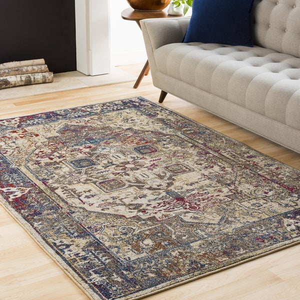 "Colonial Home Multicolored Contemporary Persian Area Rug (9'3 x 12'3) - 9'2"" x 12'3"""
