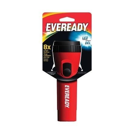 Energizer Eveready Flashlight LED D Assorted
