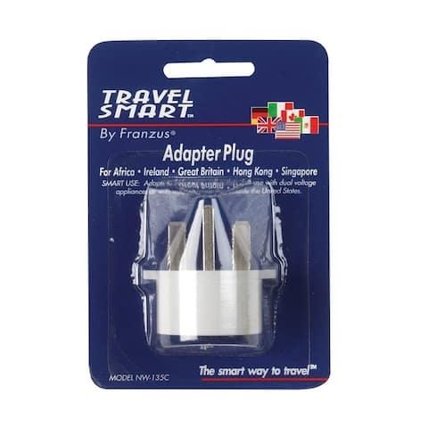 Travel Smart For Worldwide International Adapter Plug In