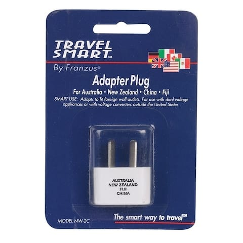 Travel Smart For Worldwide International Adapter Plug In