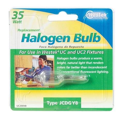 Westek Halogen Light Bulb 35 watts 630 lumens Halogen JCD GY8 Clear 1 pk