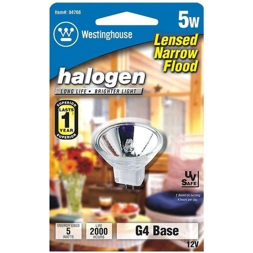 Westinghouse  5 watts MR11  Halogen Bulb  27 lumens White  1 pk Floodlight